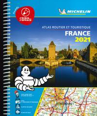 ATLAS ROUTIER ET TOURISTIQUE FRANCE 2021