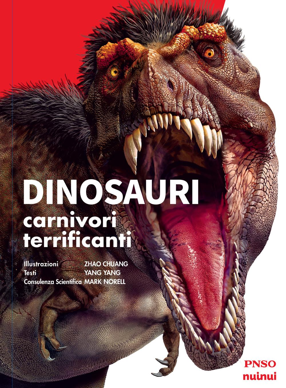 Dinosauri. 10 carnivori più terrificanti