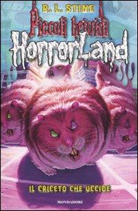 Copertina del Libro: Il criceto che uccide. Horrorland