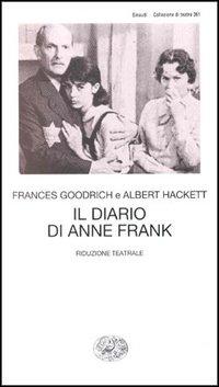 Copertina del Libro: Il diario di Anne Frank. Riduzione teatrale