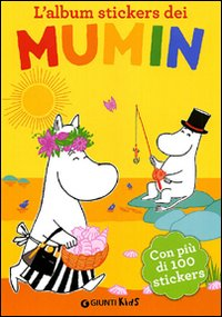 Copertina del Libro: L'album stickers dei Mumin. Con stickers