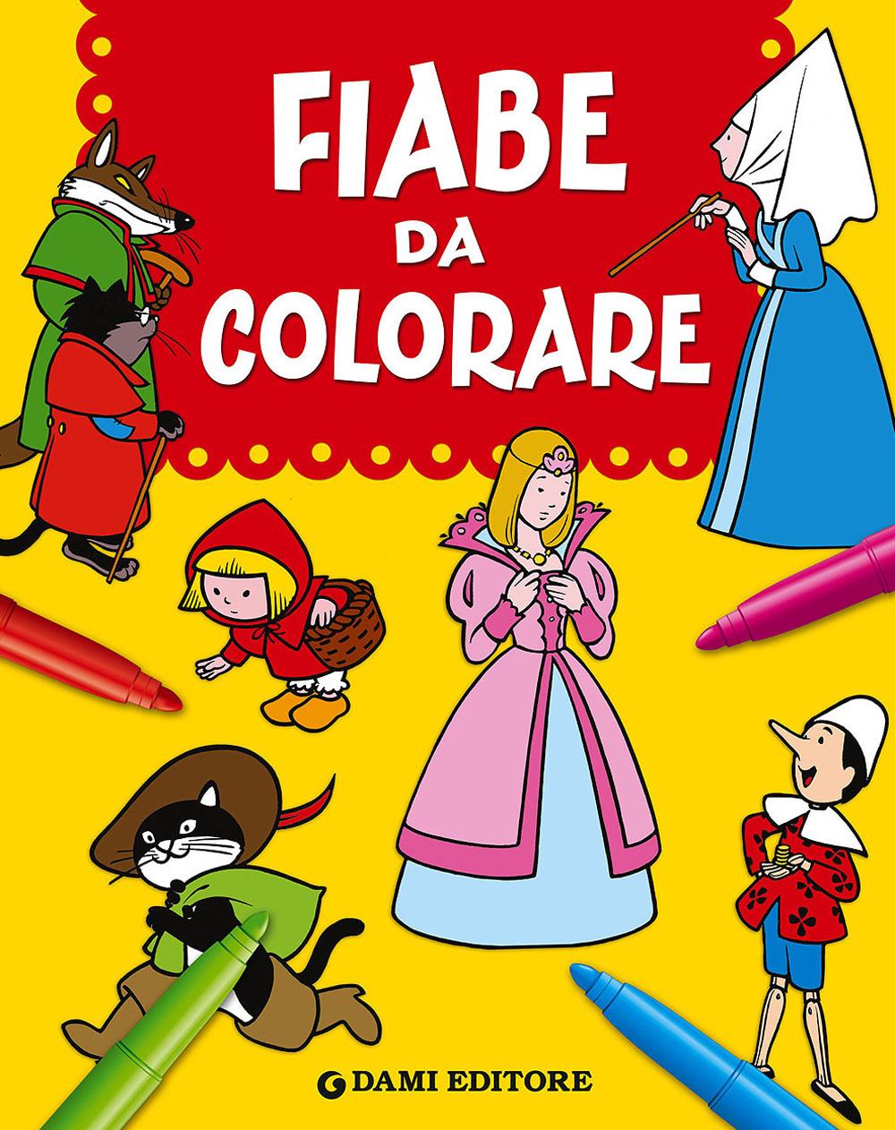 FIABE DA COLORARE - 9788809805866