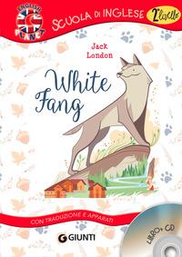WHITE FANG + CD di LONDON JACK