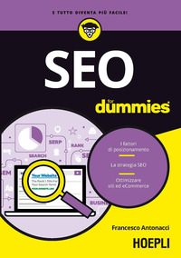 SEO FOR DUMMIES di ANTONACCI FRANCESCO