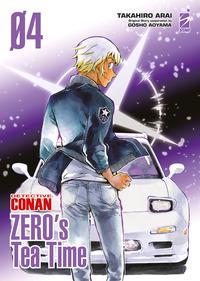 DETECTIVE CONAN 4 ZERO'S TEA TIME di TAKAHIRO ARAI