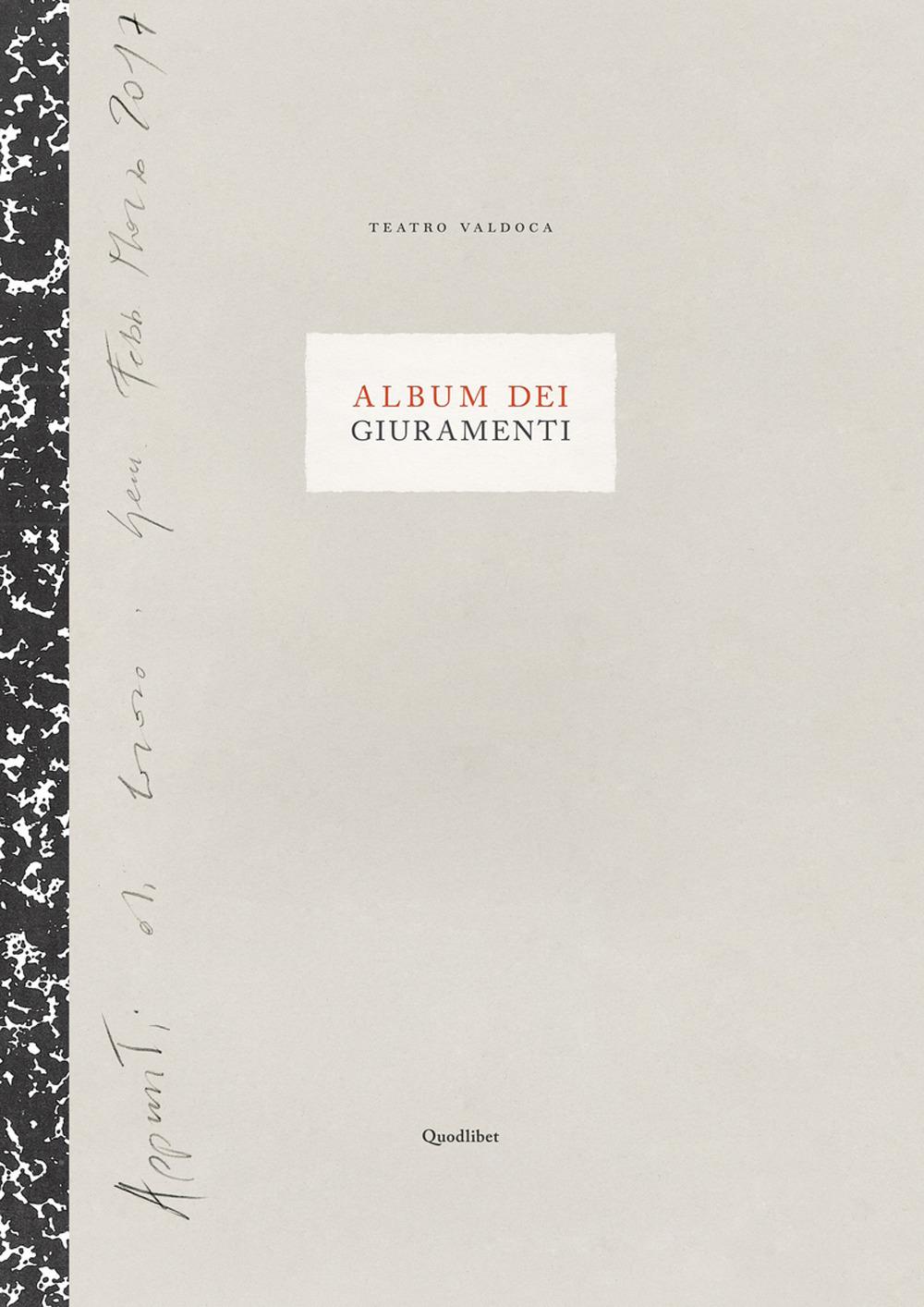 ALBUM DEI GIURAMENTI. TAVOLE DEI GIURAMENTI - 9788822903761