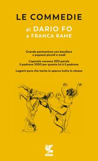 COMMEDIE 3 (DARIO FO E FRANCA RAME) di FO D. - RAME F.