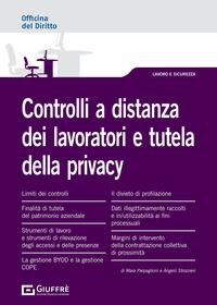 CONTROLLI A DISTANZA DEI LAVORATORI E TUTELA DELLA PRIVACY