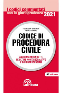 CODICE DI PROCEDURA CIVILE 2021
