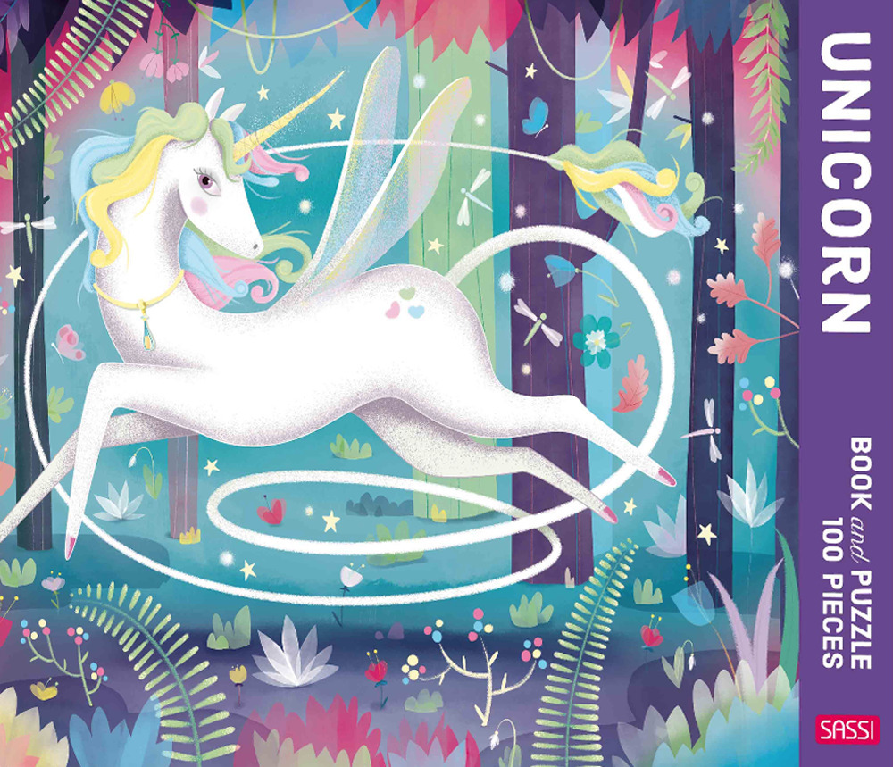 The Unicorn. Puzzle 100 piece. Ediz. a colori. Con puzzle