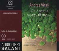 ZIA ANTONIA SAPEVA DI MENTA - AUDIOLIBRO CD MP3 di VITALI ANDREA