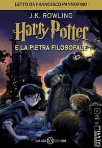 HARRY POTTER E LA PIETRA FILOSOFALE - AUDIOLIBRO CD MP3 di ROWLING J.K. - PANNOFINO F.