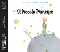 PICCOLO PRINCIPE - AUDIOLIBRO CD MP3 di DE SAINT EXUPERY ANTOINE