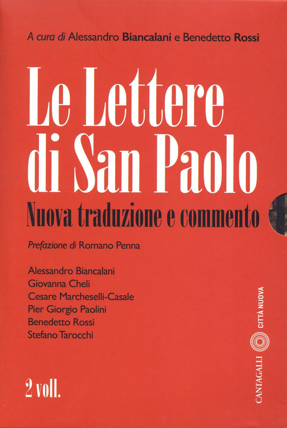 Le Le lettere di San Paolo. Nuova traduzione e commento