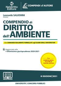 COMPENDIO DI DIRITTO DELL'AMBIENTE di SALVEMINI LEONARDO