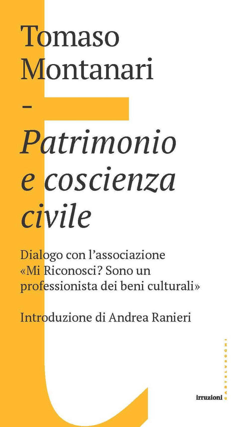 PATRIMONIO E COSCIENZA CIVILE - 9788832901863