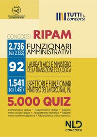 CONCORSI RIPAM 2736 FUNZIONARI AMMINISTRATIVI 5000 QUIZ