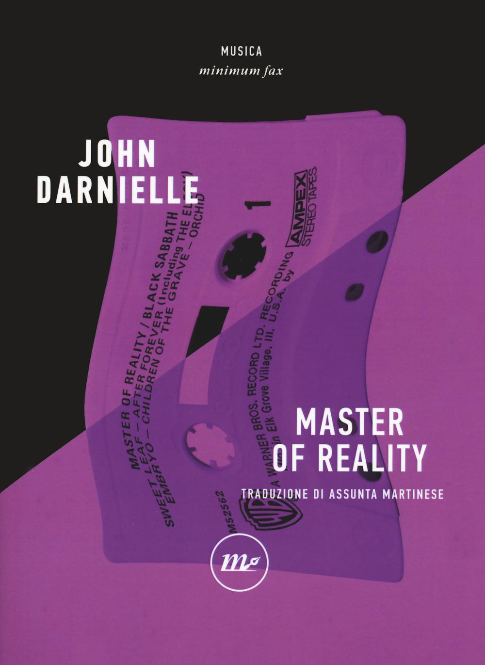MASTER OF REALITY - Darnielle John - 9788833891583