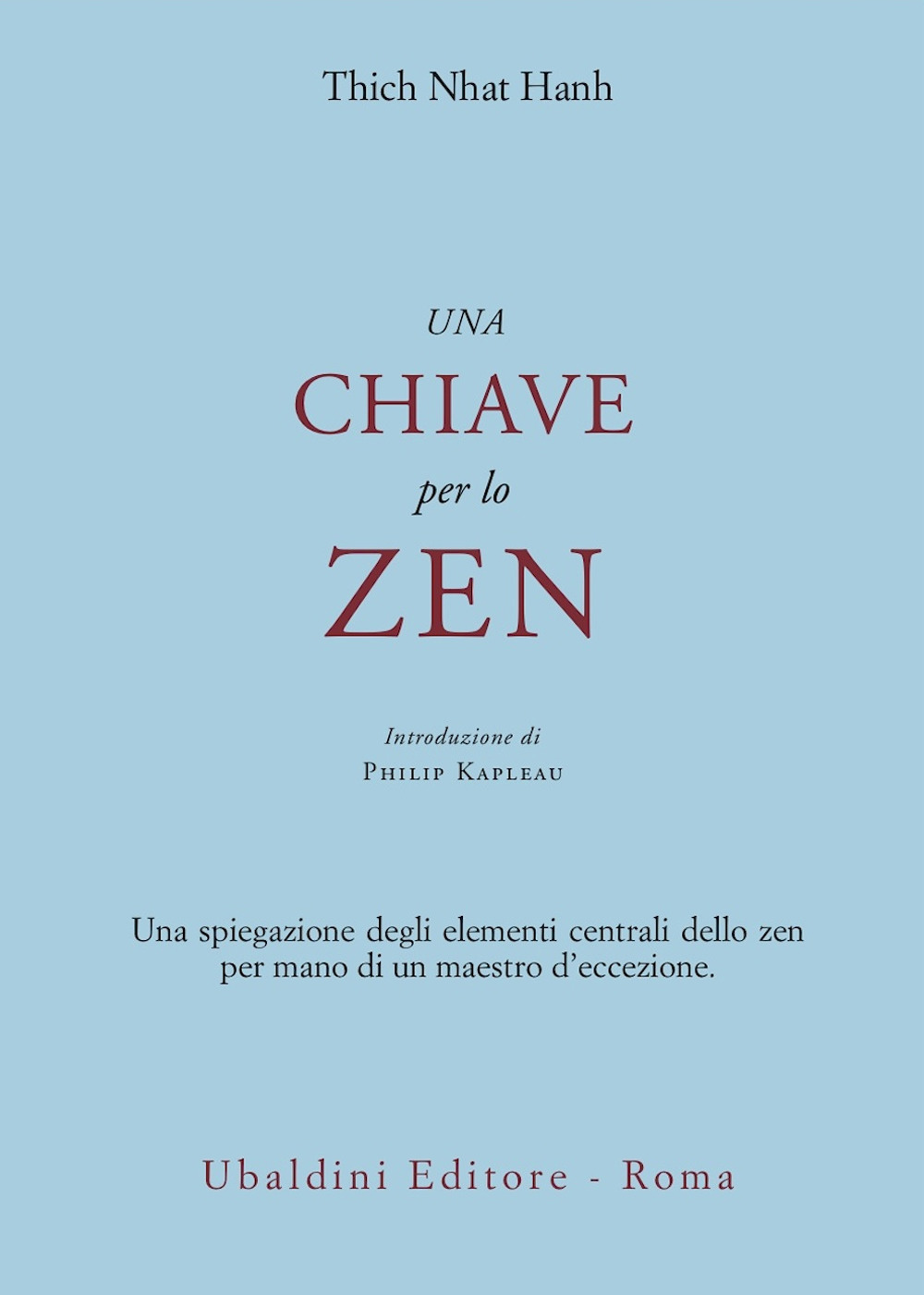 Una chiave per lo zen