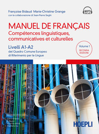 MANUEL DE FRANCAIS - COMPETENCES LINGUISTIQUES COMMUNICATIVES ET CULTURELLES di BIDAUD...