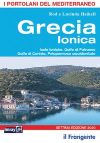 GRECIA IONICA - ISOLE IONICHE GOLFO DI PATRASSO GOLFO DI CORINTO PELOPONNESO...