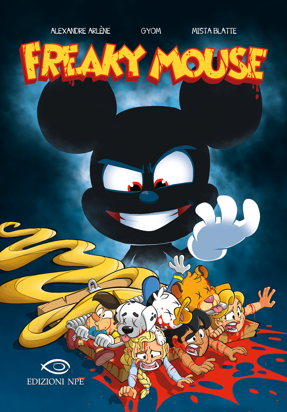 FREAKY MOUSE - 9788836270057