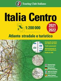 ATLANTE STRADALE ITALIA CENTRO 1:200.000 2021/2022