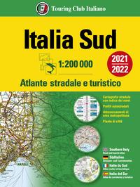 ATLANTE STRADALE ITALIA SUD 1:200.000 2021/2022