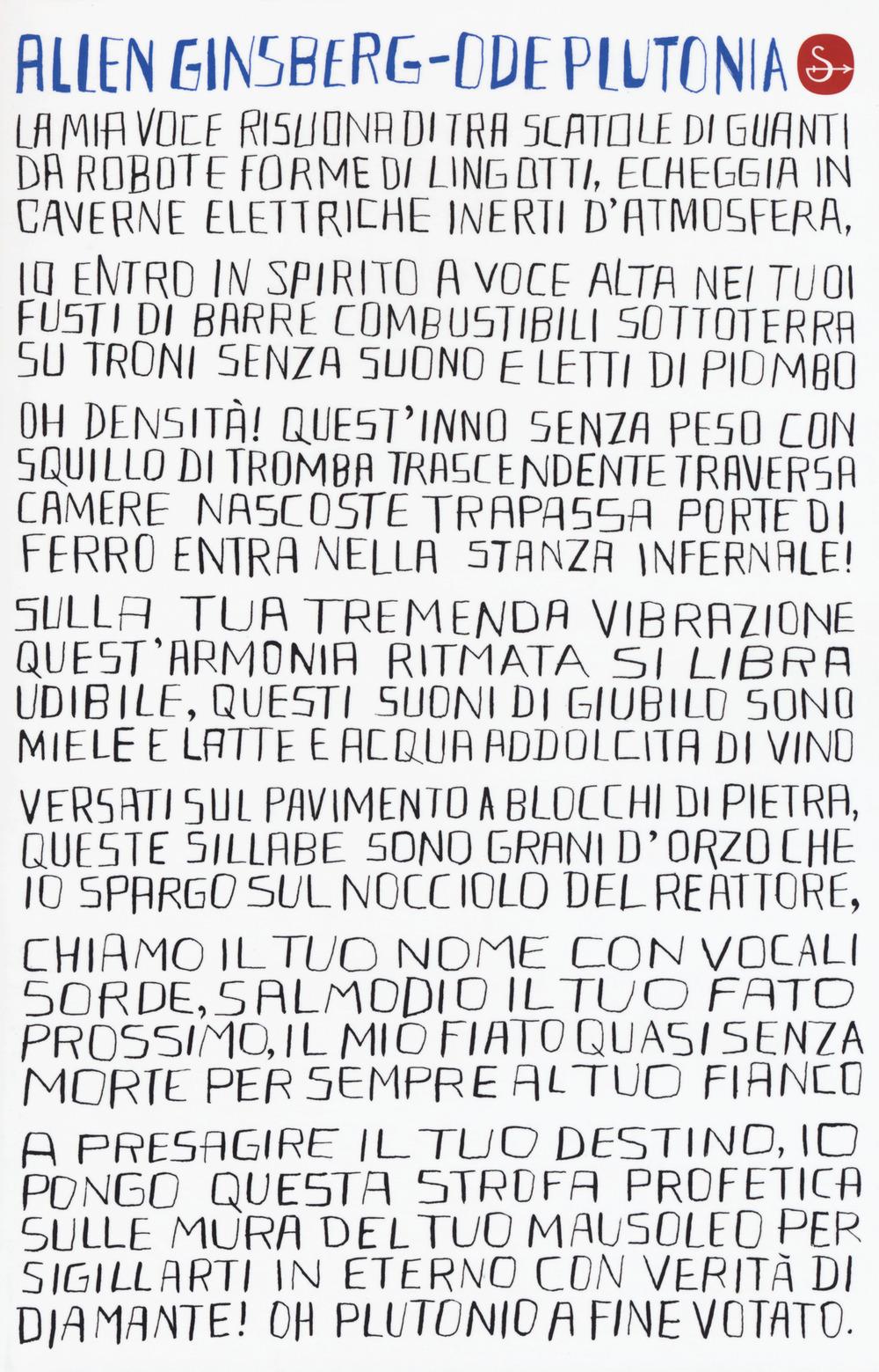 Ode plutonia. Poesie 1977-1980. Testo inglese a fronte