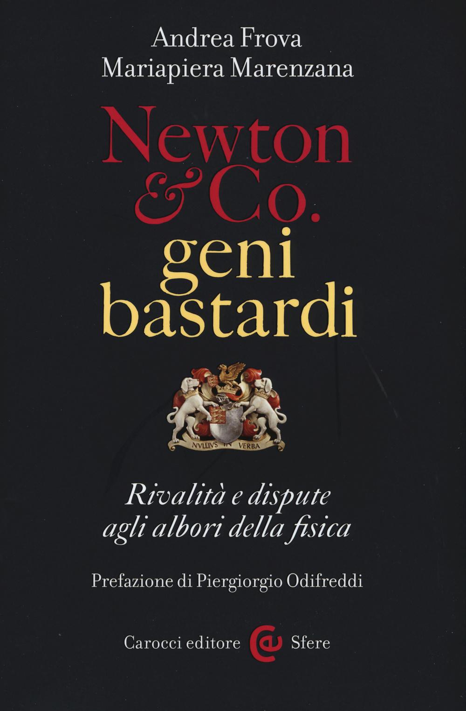 NEWTON & CO. GENI BASTARDI. RIVALITÀ E DISPUTE AGLI ALBORI DELLA FISICA - 9788843076536