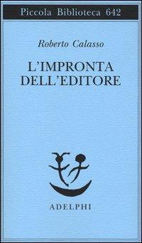 Copertina del Libro: L'impronta dell'editore