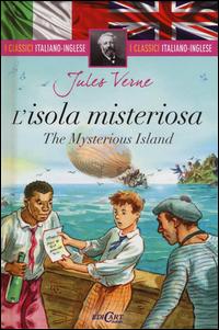Copertina del Libro: L'isola misteriosa-The mysterious island