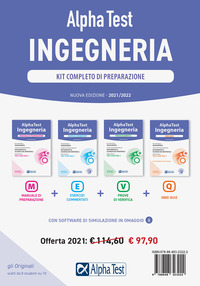 KIT COMPLETO INGEGNERIA 2021 - 2022