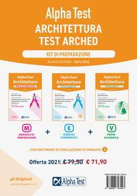 ALPHATEST ARCHITETTURA - KIT DI PREPARTAZIONE TEST ARCHED 3 VOLL.