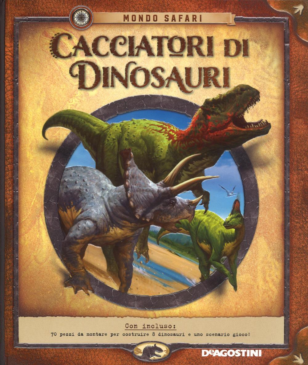 Cacciatori di dinosauri. Con gadget