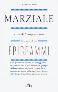 EPIGRAMMI di MARZIALE MARCO VALERIO