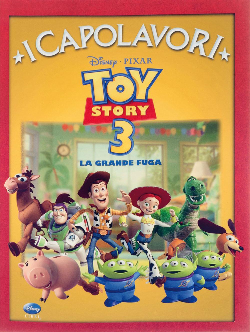 TOY STORY 3. LA GRANDE FUGA. EDIZ. ILLUSTRATA - 9788852209840