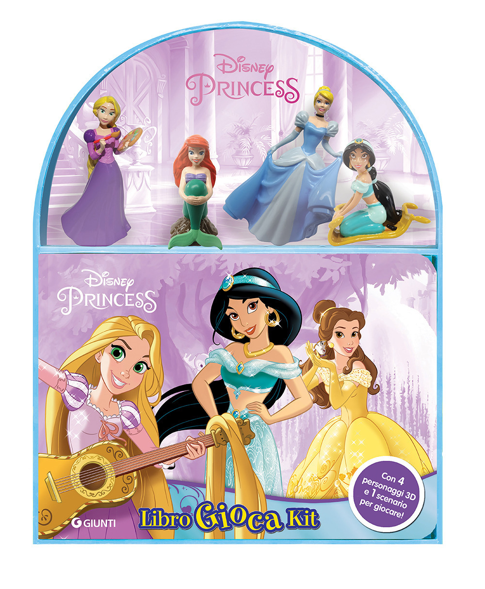 Disney princess. Libro gioca kit. Con gadget