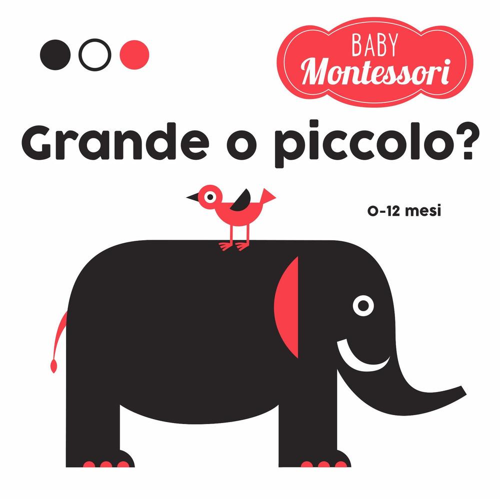 Grande o piccolo? Baby Montessori. Ediz. a colori