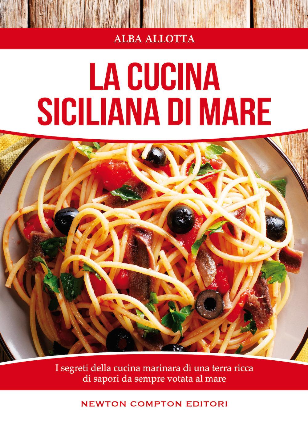 CUCINA SICILIANA DI MARE (LA) - 9788854181366