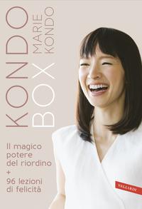KONDO BOX - MAGICO POTERE DEL RIORDINO + 96 LEZIONI DI FELICITA' di KONDO MARIE