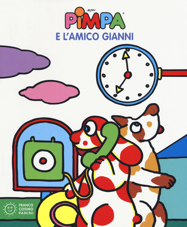 Pimpa e l'amico Gianni. Ediz. a colori