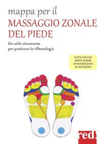 MAPPA PER IL MASSAGGIO ZONALE DEL PIEDE + POSTER