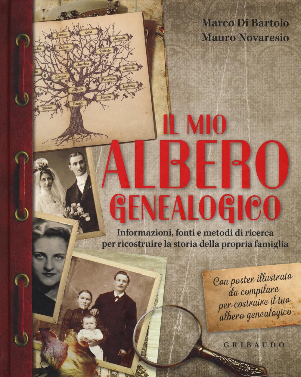 MIO ALBERO GENEALOGICO. INFORMAZIONI, FONTI E METODI DI RICERCA PER RICOSTRUIRE LA STORIA DELLA PROPRIA FAMIGLIA. CON POSTER (IL) - 9788858011812