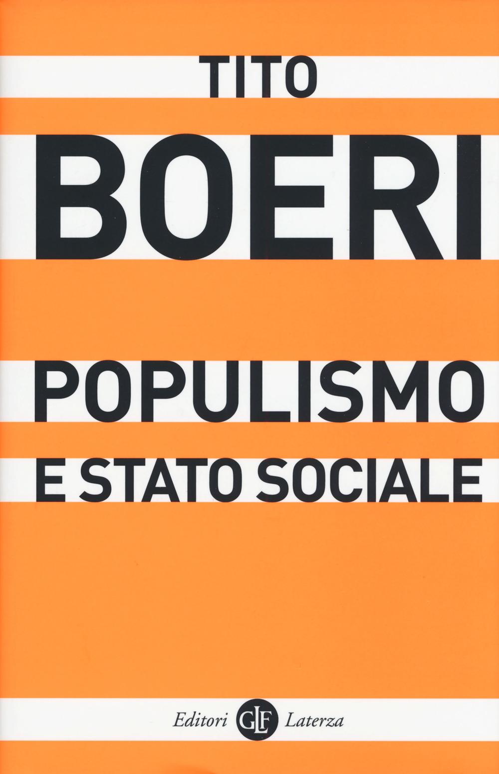 POPULISMO E STATO SOCIALE - 9788858129647