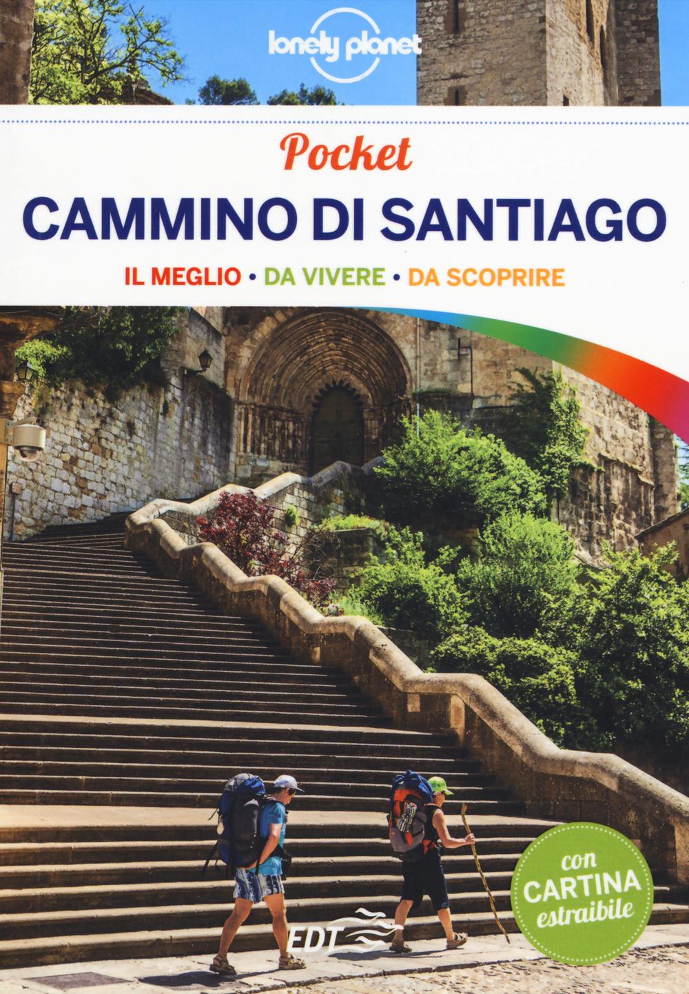 CAMMINO DI SANTIAGO. CON CARTINA - 9788859206149