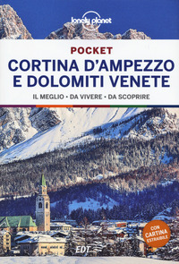 CORTINA D'AMPEZZO E DOLOMITI VENETE - EDT POCKET 2021
