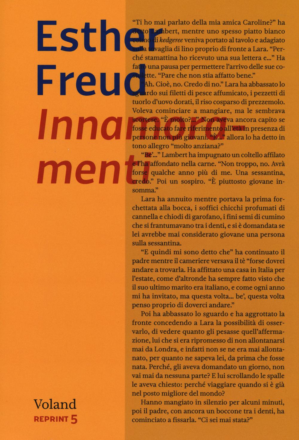 INNAMORAMENTI - Freud Esther - 9788862431712