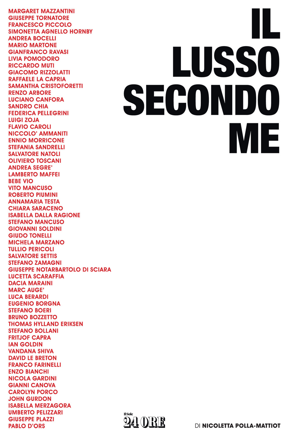 LUSSO SECONDO ME (IL) - 9788863456462