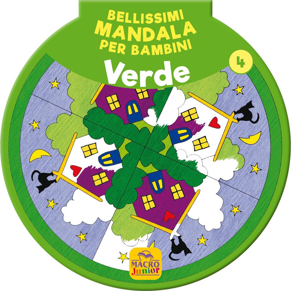 Bellissimi mandala per bambini. Vol. 4: Verde